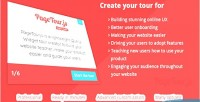 Js pagetour is a ligthweight jquery tour widget creator to guide thro users your