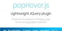 Js pophover animated popovers dynamic cursor follow which