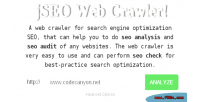 Jseo web crawler for optimization engine search