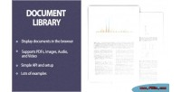 Library document