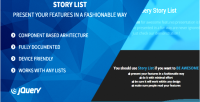 List story your awesome made features