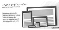 Make adaptivate any responsive adaptive site