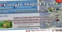 Maps google events