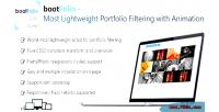 Most bootfolio filtering portfolio lightweight