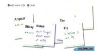 Notes sticky