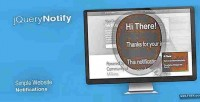 Notify jquery
