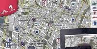 Of point interest map auto poi