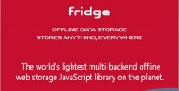 Offline fridge data everywhere storage anything stores