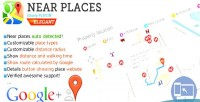 Places nearby jquery plugin