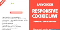 Responsive easycookie cookie notification law alert compliance