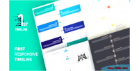 Responsive first timeline