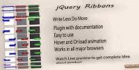 Ribbon jquery plugin