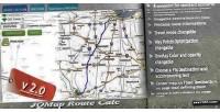 Route jqmap calc