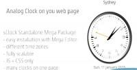 Sclock mega package analog timezones w. clocks