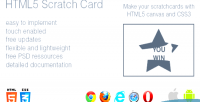Scratch html5 card