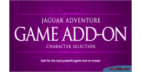 Selection character jaguar addon engine game