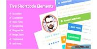 Shortcode tiva elements