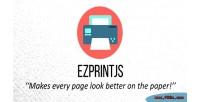 Simplify ezprintjs page printing
