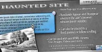 Haunted site pop up plugin jquery elements