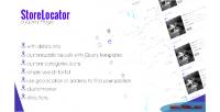 Store jquery locator
