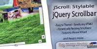Stylable jscroll jquery scrollbar