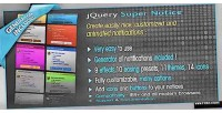 Super jquery notice