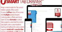 Tab smart drawer