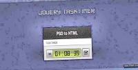 Tasktimer jquery stopwatch