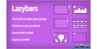 Themeable lazybars plugin jquery scrollbar