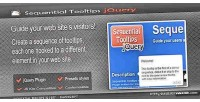 Tooltips sequential jquery