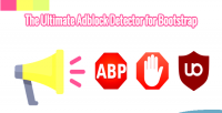 Ultimate the adblock bootstrap for detector