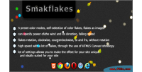 Various smakflakes plugin jquery flakes