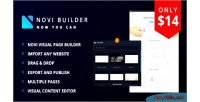 Visual novi page builder