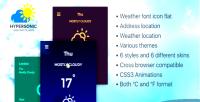 Weather hypersonic plugin