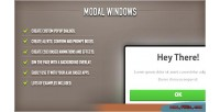 Windows modal jquery