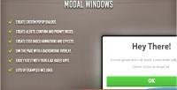 Windows modal jquery