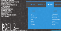 2 pofi menu animated responsive