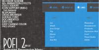 2 pofi menu animated responsive