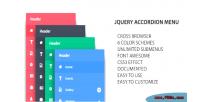 Accordion jquery menu