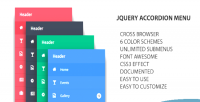 Accordion jquery menu