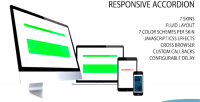 Accordion responsive