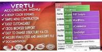 Accordion vertu menu