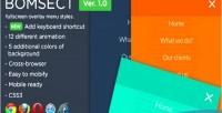 Bomsect cmd fullscreen styles menu overlay