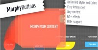 Buttons morphy jquery morpher content any