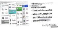 Context jquery menu plugin