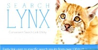 Convenient searchlynx search links