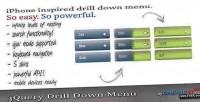 Drilldown jquery menu
