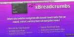 Dynamic xbreadcrumbs expandable navigation