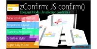 Elegant zconfirm modal confirm javascript