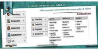 Huge javascript vertical menu